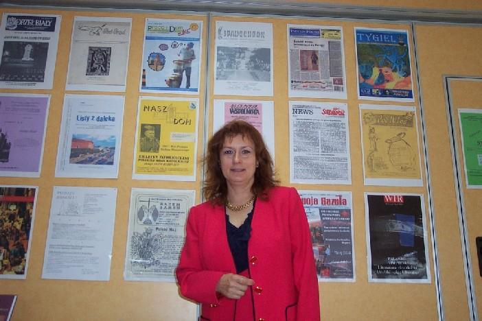 Agata Kalinowska-Bouvy, prezes Stowarzyszenia Autorów, Dziennikarzy i Tłumaczy w Europie